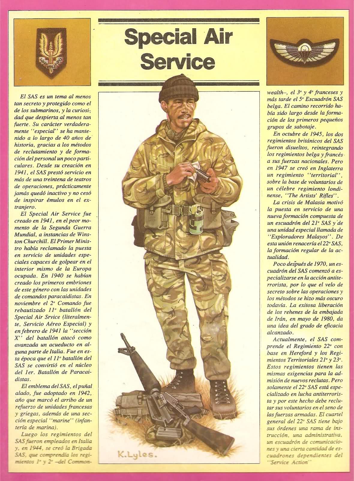 Uniformes ingleses Guerra de Malvinas 4sh2iu