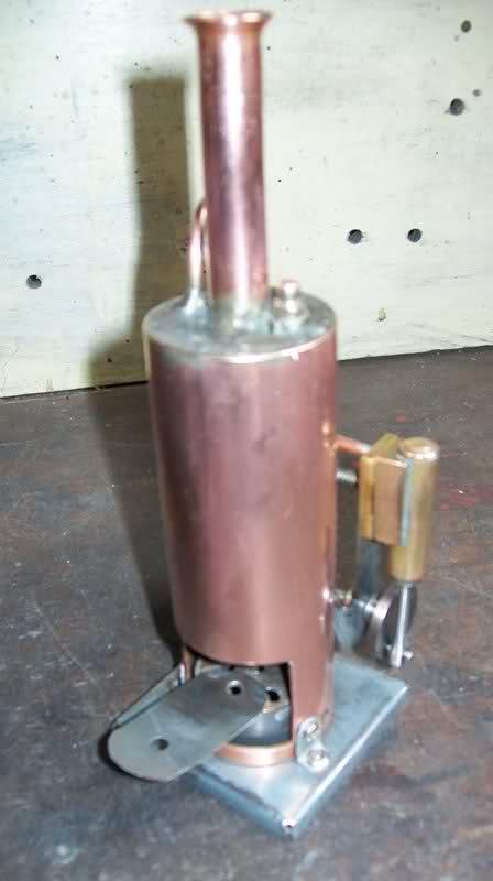 Motor a vapor oscilante de caldera vertical 5l9wug