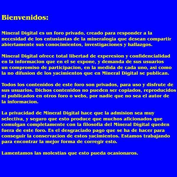Foro Mineral Digital - Portal 9t2xic
