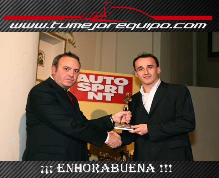 Kubica gana el Premio FIA a la Personalidad del Año 2013 Avj3w6