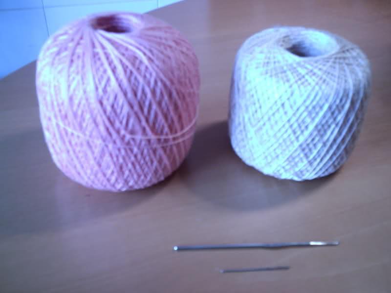 CROCHET - Patrón para realizar tapete en redondo a crochet (en dos colores) Dfy8te