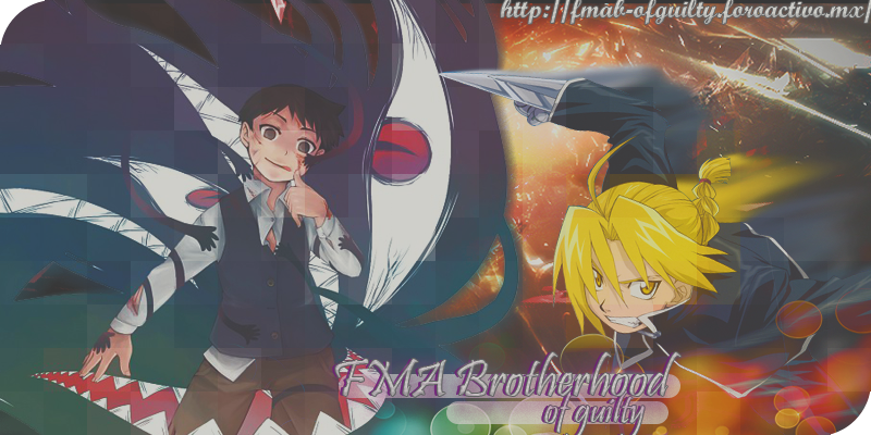 FMA Brotherhood of Guilty