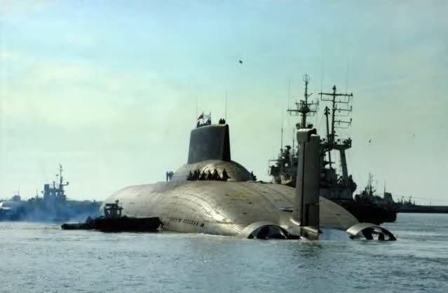 Les sous-marins Typhoon Jheik6