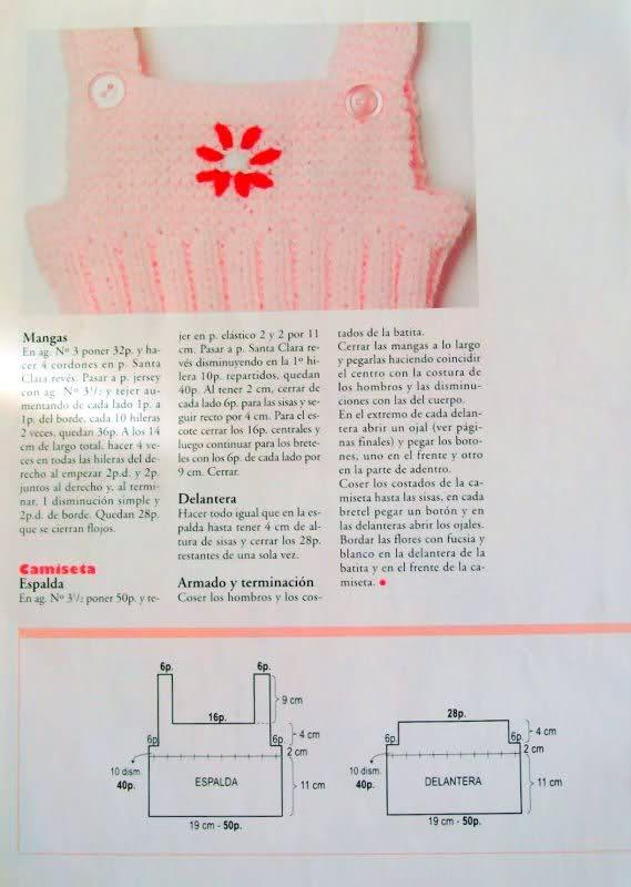 Camisetitas y bombachos para bebés para el verano (lomargo) K4gids