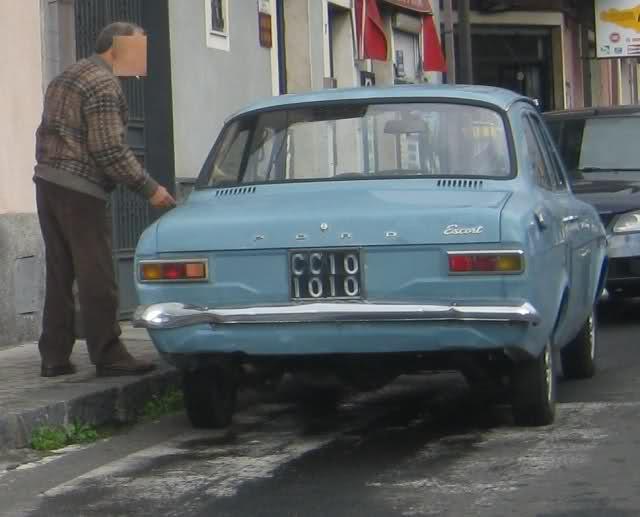avvistamenti auto storiche Nv372q