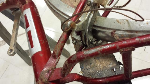 Restauración total de una bicicleta G.A.C. Qrg5t3