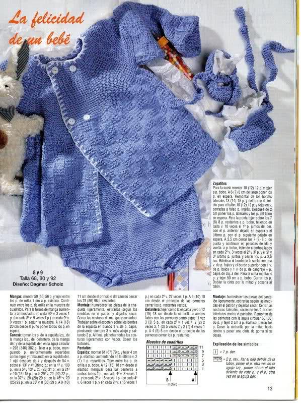 chaquetitas bebe - Patrones para realizar chaquetitas de bebés (Matilde) R289z6