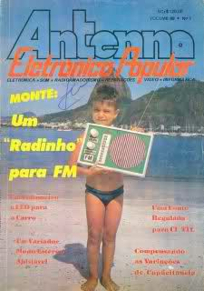 Revistas de Eletrônica Descontinuadas R7na86