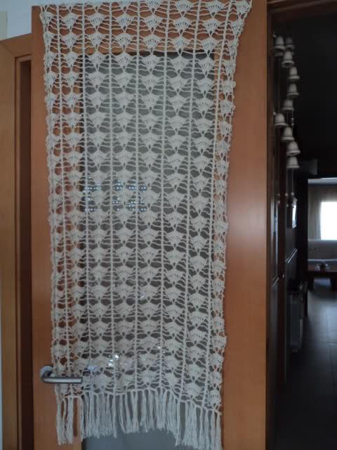 MI ULTIMO CHAL TEJIDO A CROCHET CON HILO DE ALGODON COLOR MARFIL T6t8aw