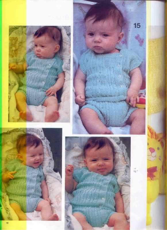 Camisetitas y bombachos para bebés para el verano (lomargo) V3dmd0