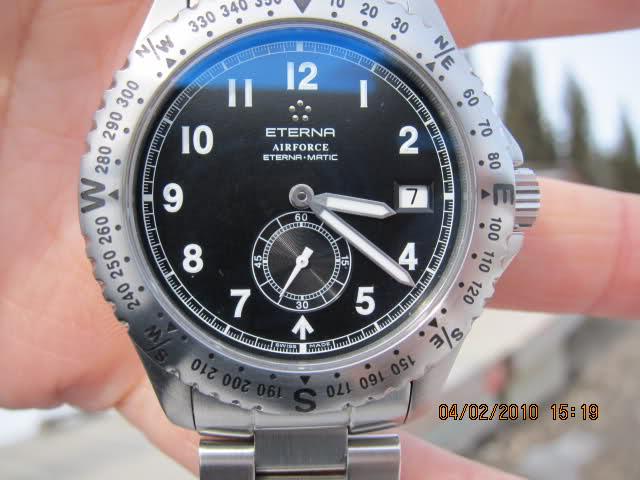 Ma montre Eterna V6m1qx