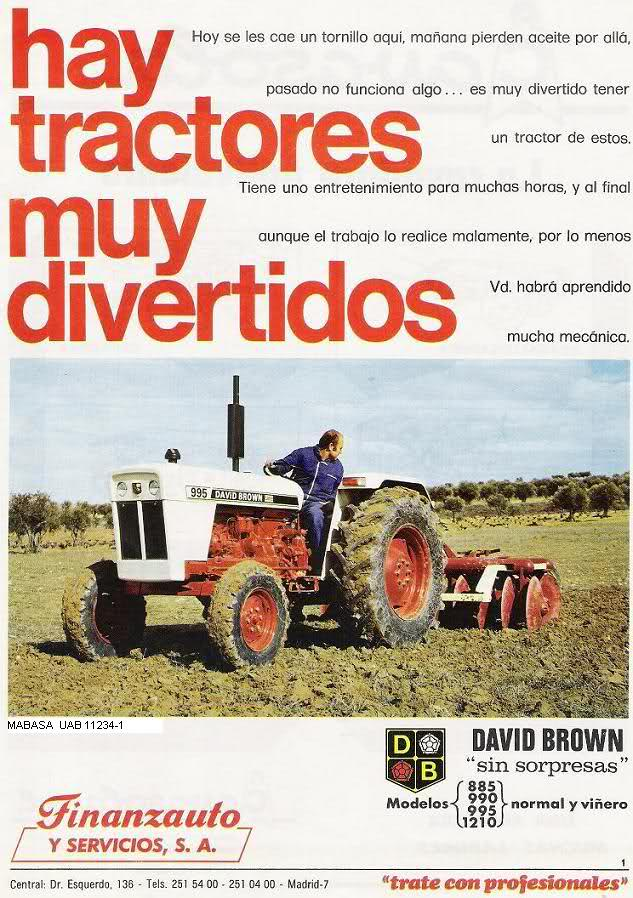 DAVID BROWN  Tractores Ws1agn