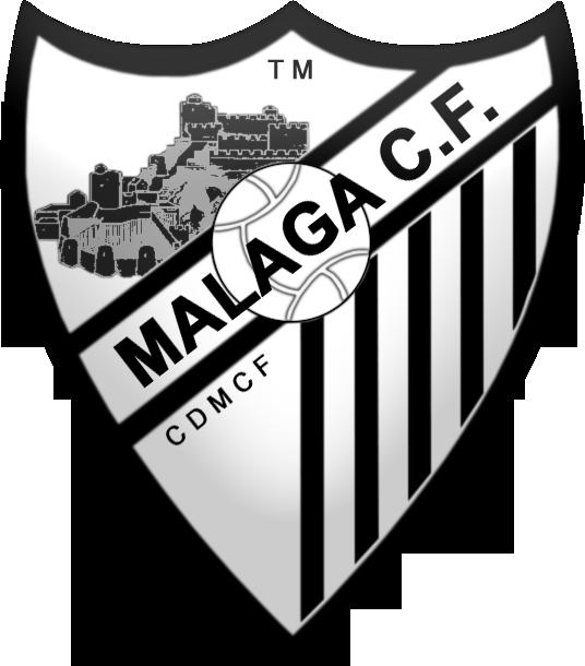 8 diseños del escudo del Malaga, formato PNG, 536px por 610px X4htaa