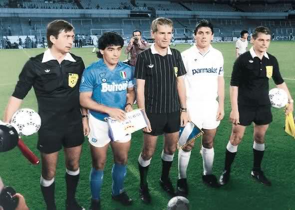 Eliminatoria historica, Copa de Europa 1987/1988, Real Madrid-Napoles (2-0 y 1-1) Zji87k