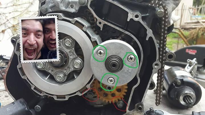 Armando el motor! 15ft6km