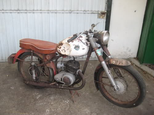cross - Derbi Cross 125 - 1959 * Rafbultaco 15wmkaw