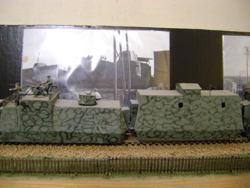 Panzerzug BP 32 en vrai et en scratch. 169g5ms