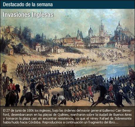Invasiones Inglesas al Río de la Plata 16h9460