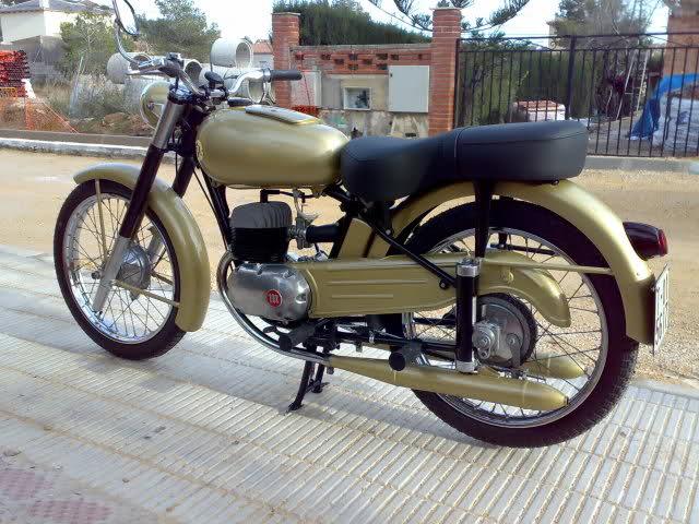 "Mi Montesa Brio 81 de 1958. 125cc ""La Trucha"" 1pxime"