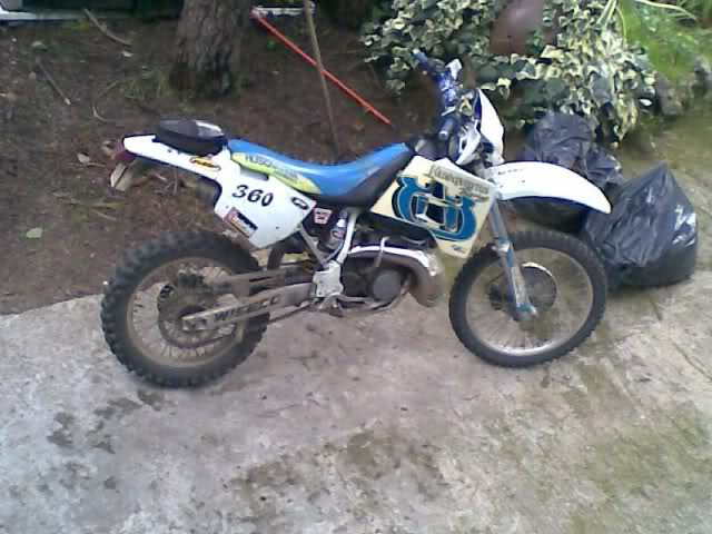 Husqvarna CR 360 1992 23l15kx