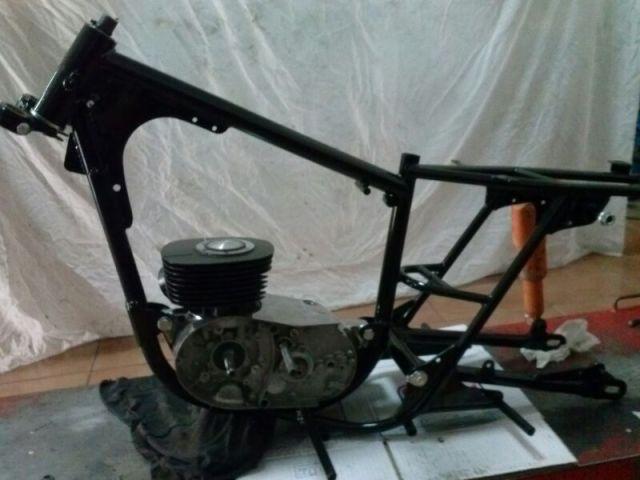 Restauración Bultaco Mercurio mod 9 25umal3