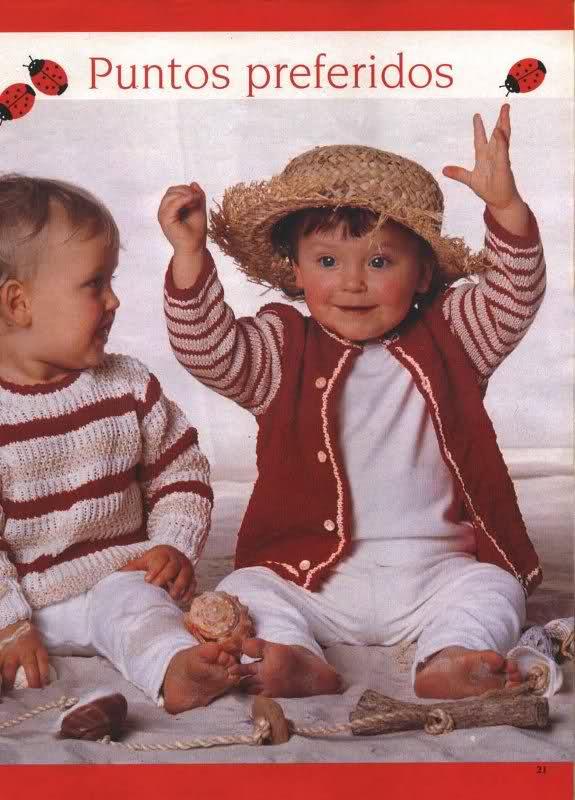 chaquetitas bebe - Patrones para realizar chaquetitas de bebés (Matilde) 25zmsmb