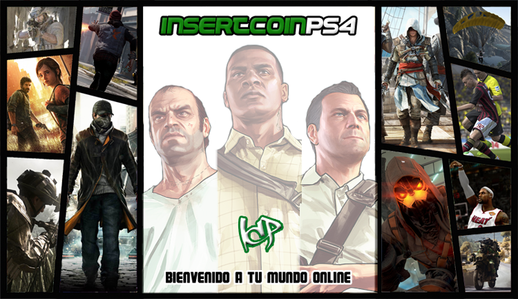 Insert Coin PS4-PS3 - CLAN ICP