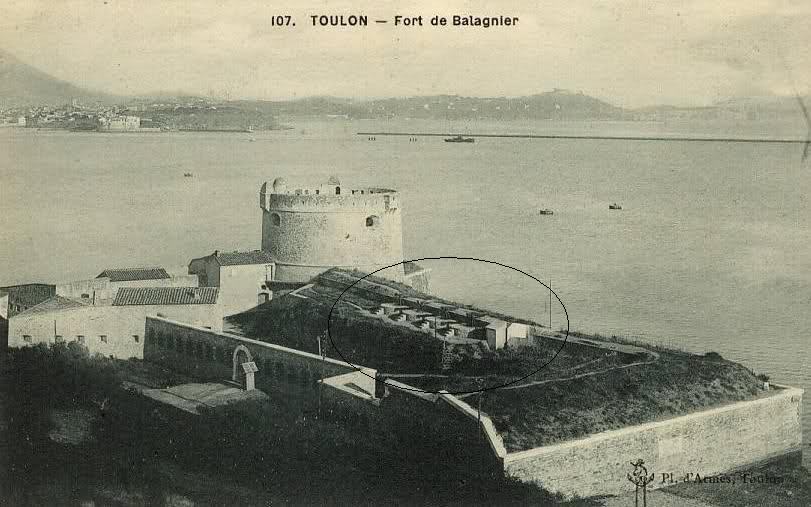 Tor 151, Fort Balaguier (Toulon, 83) 2dran7r