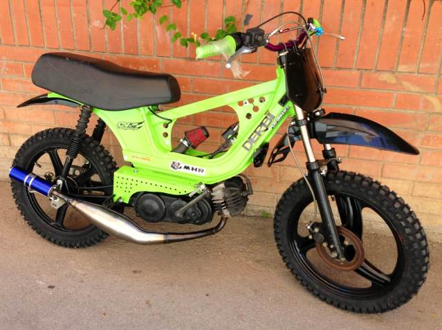 Derbi Variant Cross, empieza la metamorfosis 2irkzkm