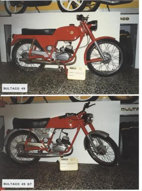 Bultaco 49 y 49 GT de carretera 2is76mb