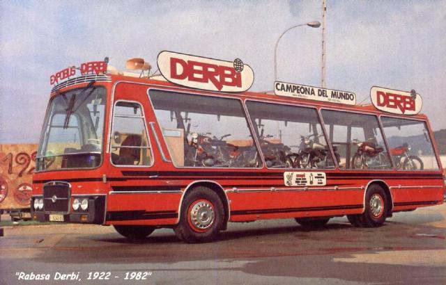 El expobus Derbi 2j60n85