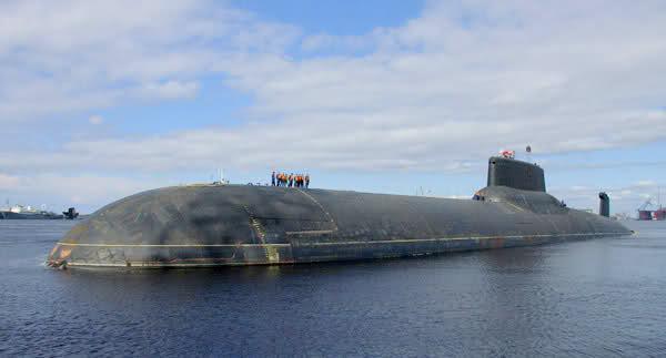 """Horlogerie à l'effigie des sous-marins """"Typhoon"""" 2jd155h"""