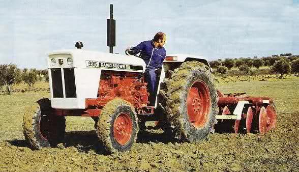 DAVID BROWN  Tractores 2l8vi47