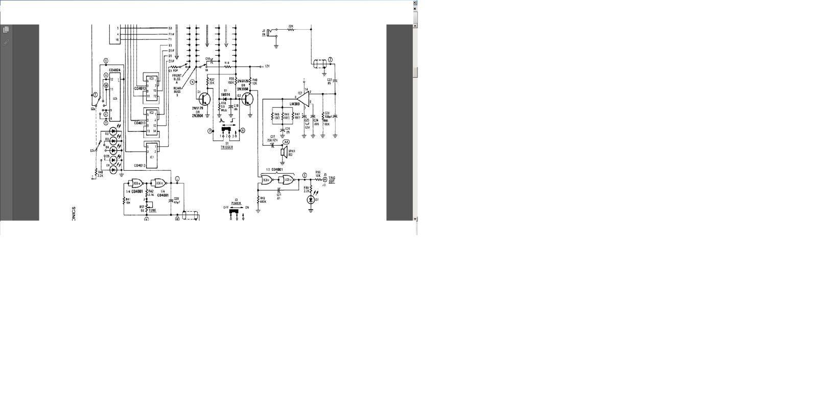 órgao eletronico com M208B1 2mcgmet