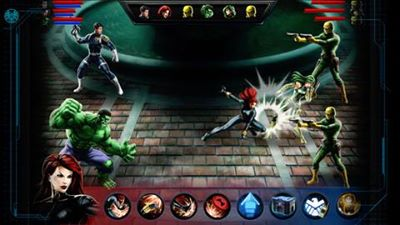 El Marvel avengers alliance para iOS 2md5qb9