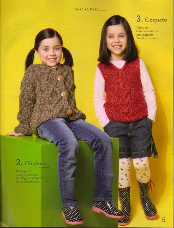 niña - chaleco para niña 2mn4z00