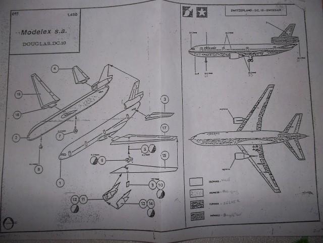 Douglas DC-10 SWISSAIR=modelex/Heller 1/450 Ref.049 (TERMINADO) 2zgaydf