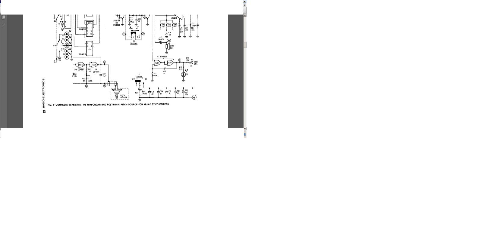 órgao eletronico com M208B1 2zyzx93
