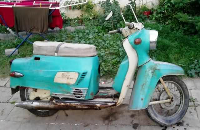 Mi nueva Scooter Manet 125 300h7ur