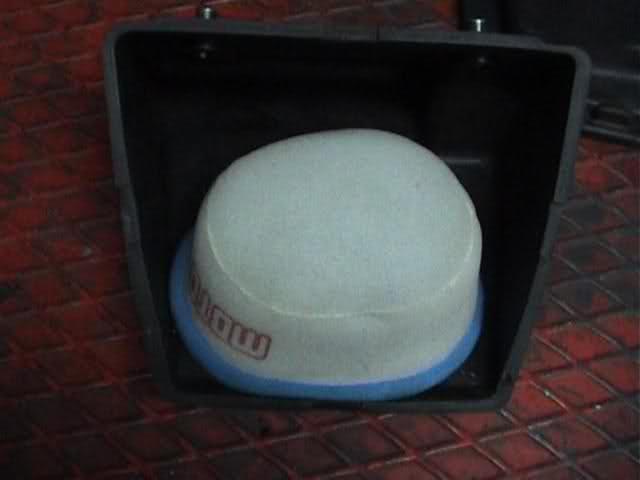 ¿Función de la caja del filtro de aire? 309ltfn