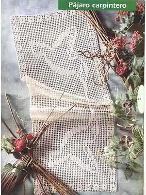 CROCHET - Varios patrones para realizar UN MANTEL a crochet 33vhyqd