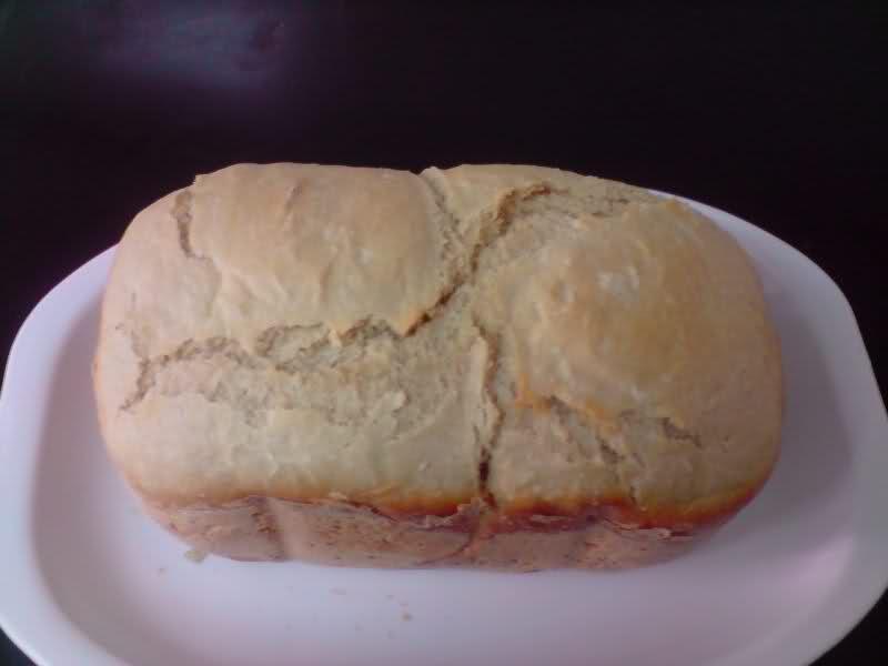 Mi primer pan con panificadora del lidl 34e4uwm
