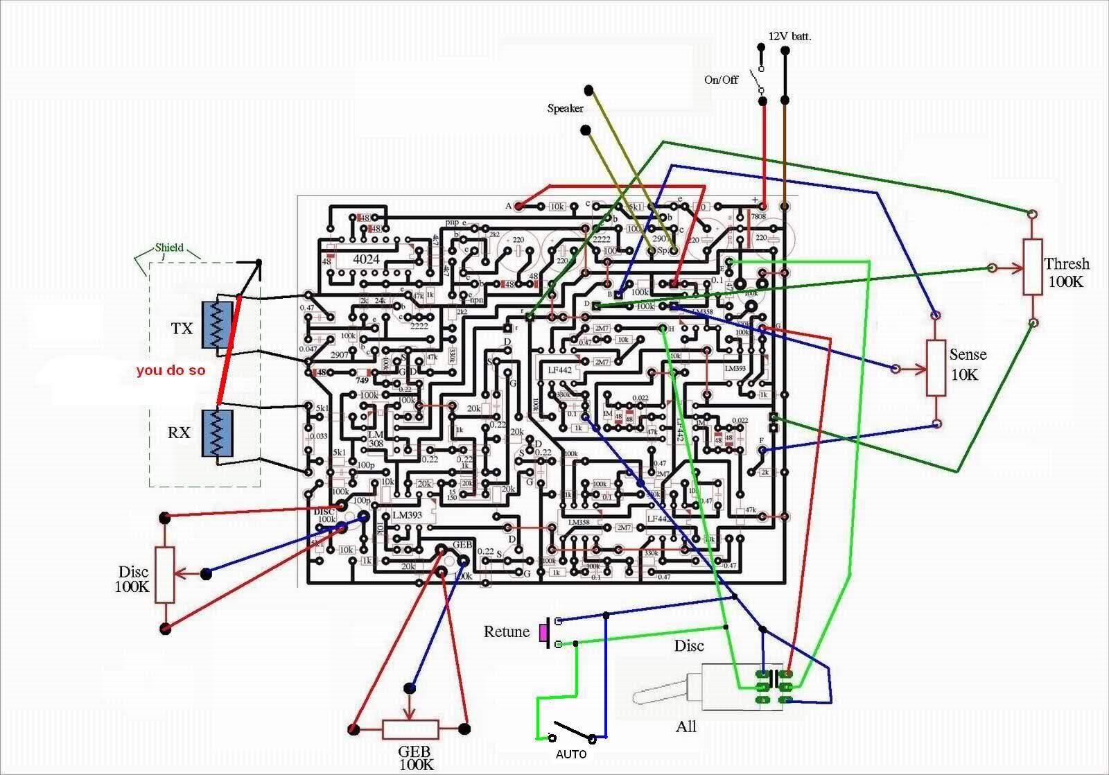 outro detector famozão TGSL(Tesoro Golden Sabre-Light) 34odcnd
