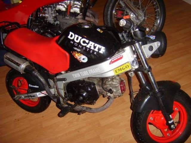 Que cantidad de ciclomotores Ducati juntos 351ctue