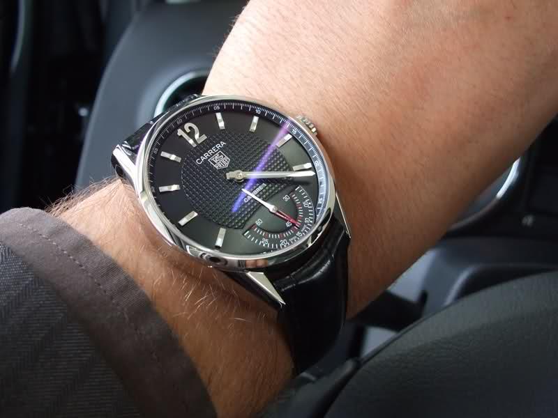 Tour de poignet versus diamètre de la montre ? 5km77l