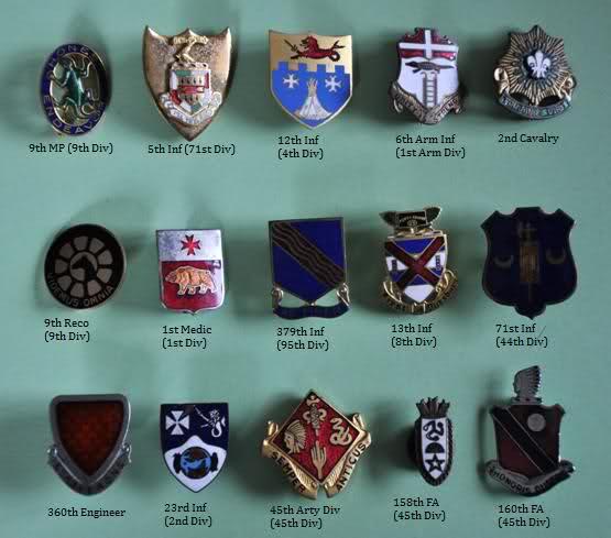 Crests et insignes us ww2  9jnipi