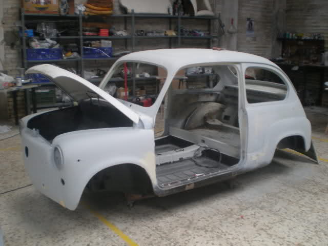 Restauración Seat 600 E 1ª serie. Ae14w5