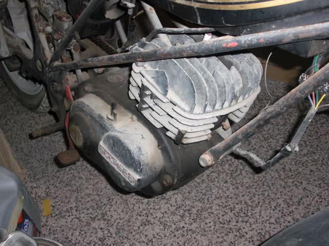 Restauración Bultaco Streaker B6t2l5