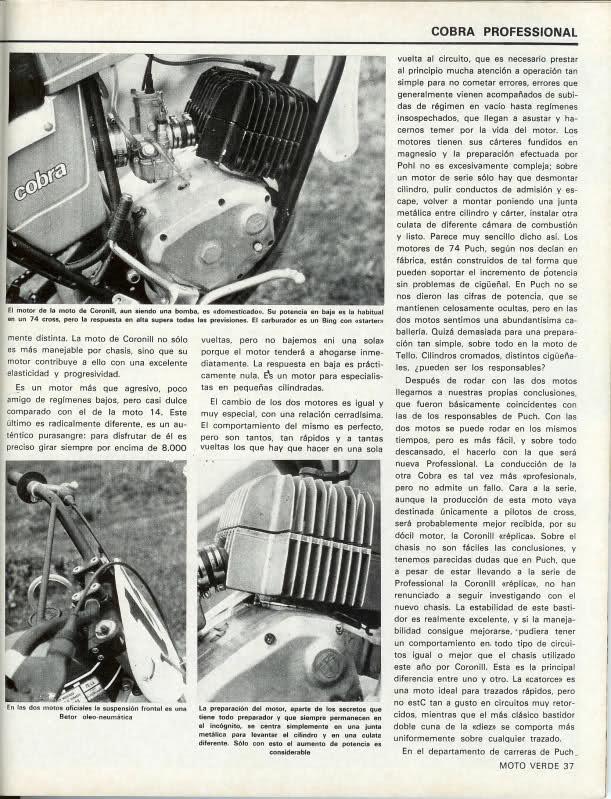 Puch Cobra Tello - La Gran Desconocida Cn91i