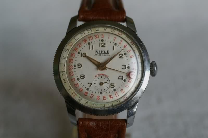 Kiplé montres vintage françaises dans l'ombre des Lip et Yema Fax8uv